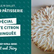 Atelier pâtisserie : tarte citron meringuée