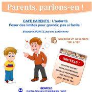 Café parents : l\'autorité