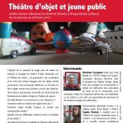 Théâtre d'objet et jeune public