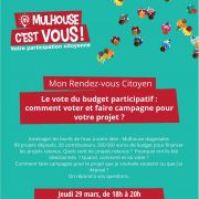 RDV Citoyen : Le vote du budget participatif