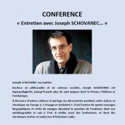 Entretien avec Joseph SCHOVANEC
