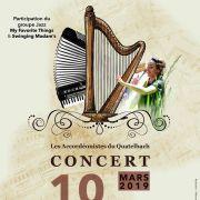 Concert annuel des accordéonistes du Quatelbach
