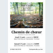 Chemin de Choeur