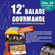 Balade Gourmande Lions Club Altkirch