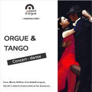 Concert - danse : Orgue & Tango