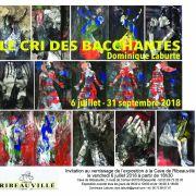 Peintures de Dominique Laburte : Le Cri Des Bacchantes