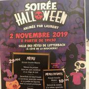 Soirée Halloween à Lutterbach