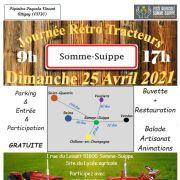 Journée Rétro Tracteurs à Somme-Suippe