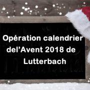 Calendrier de l\'Avent à Lutterbach