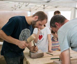 Atelier adulte/enfant - Taille de pierre