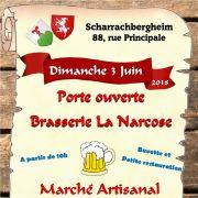 Porte ouverte Brasserie La Narcose et marché du Terroir et de l\' Artisanat