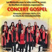Concert gospel à Voegtlinshoffen