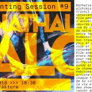 Live Painting session #9 with Nathalie Falck