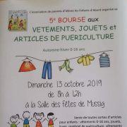 Bourses aux vêtements, jouets et articles de puériculture à Mussig
