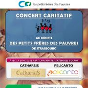 Concert caritatif au profit des Petits frères des Pauvres