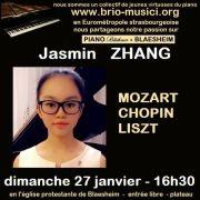 Jasmin Zhang pianiste prodige de 13 ans