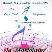 Concert la Marjolaine \