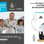 Stage Real Madrid au Soccer Park