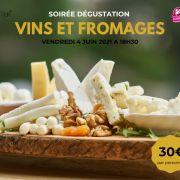 Soirée dégustation - Vins et fromages
