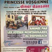 Bal de carnaval animé par les joyeux montagnards du Dieffenbach