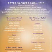 Fêtes de Printemps : Préparation Pentecôte