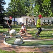 Ouverture du mini-golf