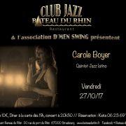 Carole Boyer Quintet jazz latino
