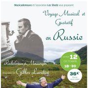 Voyage musical et gustatif en Russie