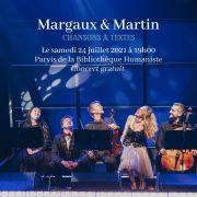 Concert de Margaux & Martin