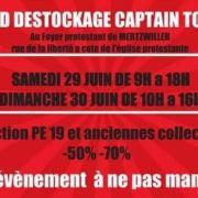 Destockage Captain Tortue