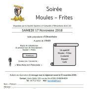 Soirée Moules - Frites