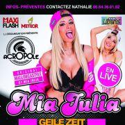 Ballerman Event - Mia Julia en live