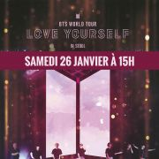 Concert : BTS World Tour \'Love Yourself\' in Seoul