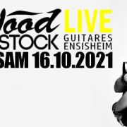 Gaëlle Buswel (blues rock) + Tasty Shades chez Wood Stock Guitares Ensisheim