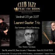 Trio Laurent Gautier : Hommage à Serge Gainsbourg
