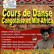 Cours de Danse Congolaise et Mix-Africa