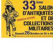 33ème Salon d\'antiquités et de collections militaires