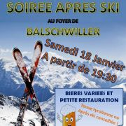 Soirée Après-ski Acte III