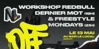 freestyle mondays + workshop red bull dernier mot