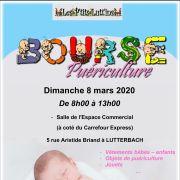 Bourse aux vêtements et jouets d\'enfants à Lutterbach 2020