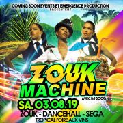 Tropical party Zouk Machine