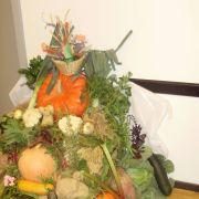 Exposition de fruits et légumes