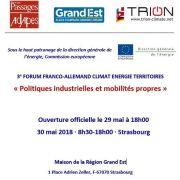 3e Forum franco-allemand : Politiques industrielles et mobilités propres