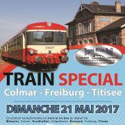 Train exceptionnel Colmar-Volgelsheim-Freiburg