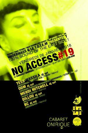 No access 19 strasbourg soir e cabaret onirique for Cabaret onirique