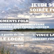 Projection Fragments Folk + Concert Vince Lahay
