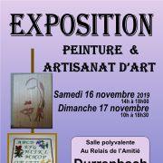 Exposition de peinture et d\'artisanat d\'art à Durrenbach