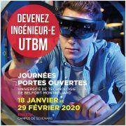 Journées portes ouvertes de l\'UTBM 2020