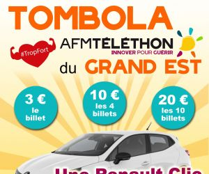 Tombola Téléthon Grand Est