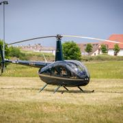 Neuf-Brisach : Survol en hélicoptère